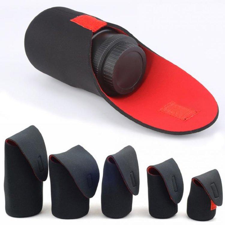 Купить Чехол для объектива из неопрена по цене 220 руб. в интернет магазине Litefoto.net