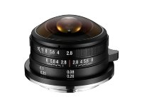 Объектив Laowa 4 mm f/2.8 Fisheye micro 4/3