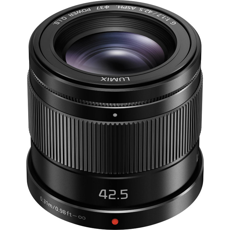 Объектив Panasonic 42.5mm f/1.7 G Aspherical Power O.I.S. (H-HS043E)
