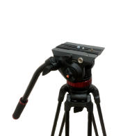 Видеоштатив Manfrotto 502A и E-IMAGE GA752
